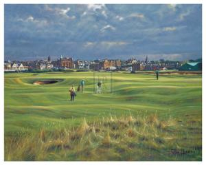 St. Andrews 16th - Corner Of The Dyke by Peter Munro