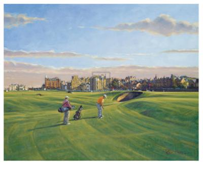St. Andrews 17th - Road
