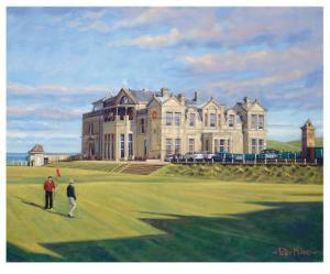 St. Andrews 18th - Tom Morris by Peter Munro