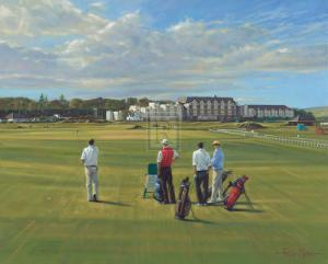 "St. Andrews 1st - ""Burn"" by Peter Munro"