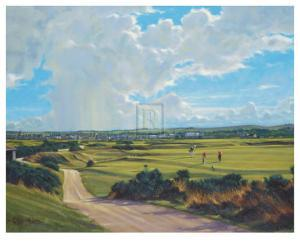 St. Andrews 5th - Hole O'cross (Out) by Peter Munro
