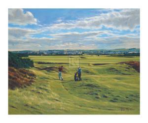 St. Andrews 9th - End by Peter Munro