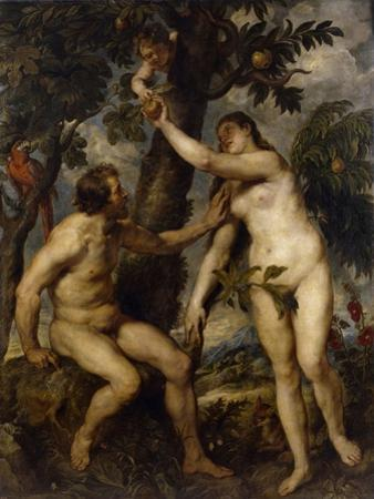 Adam and Eve, 1628-1629 by Peter Paul Rubens