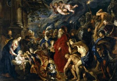 Adoration of the Magi, 1609; 1628-1629 by Peter Paul Rubens