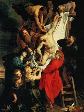 Altar: Descent from the Cross, Central Panel by Peter Paul Rubens