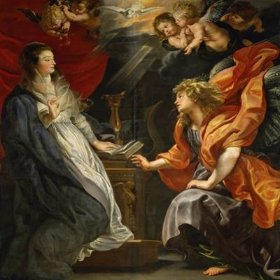 Annunciation to Saint Mary, 1609 by Peter Paul Rubens