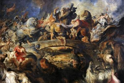 Battle of the Amazons, 1616-1618 by Peter Paul Rubens