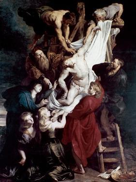 Descent from the Cross, C1612-1614 by Peter Paul Rubens