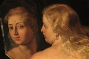 Detail of The Toilet of Venus by Peter Paul Rubens