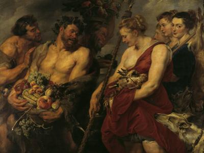 Diana's Return From the Hunt by Peter Paul Rubens
