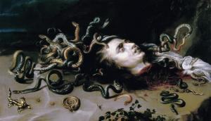 Head of Medusa by Peter Paul Rubens