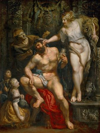 Hercules and Omphale, 1602-1605 by Peter Paul Rubens