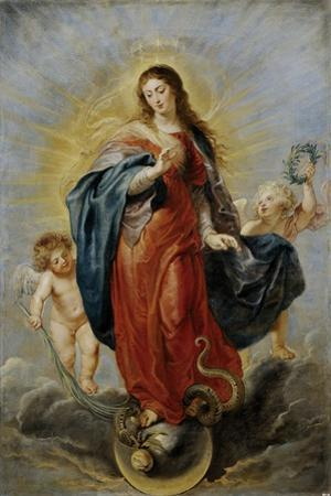 Immaculate Conception, 1628-1629 by Peter Paul Rubens
