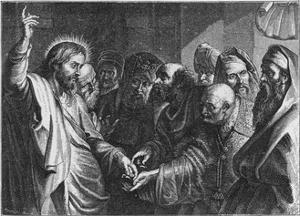 Jesus and Money by Peter Paul Rubens