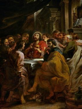 Last Supper, 1630-1632, Commissioned by Catherine Lescuyer by Peter Paul Rubens