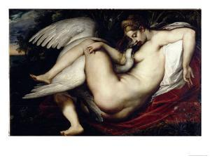 Leda and the Swan by Peter Paul Rubens