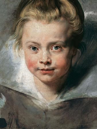 Portrait of Clara Serena Rubens by Peter Paul Rubens