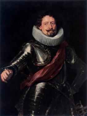 Portrait of Don Diego Messia, Marques De Leganés by Peter Paul Rubens