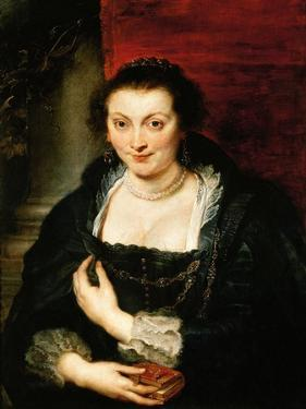Portrait of Isabella Brandt, C. 1625 by Peter Paul Rubens