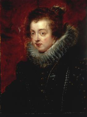 Portrait of Isabella of Bourbon, Queen of Spain by Peter Paul Rubens
