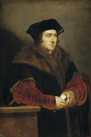 Portrait of Sir Thomas More, 1625-1630 by Peter Paul Rubens