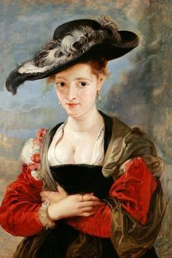 Portrait of Susanne Fourment, 1622-1625 by Peter Paul Rubens