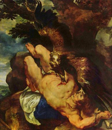 Peter Paul Rubens (Prometheus bound) Art Poster Print