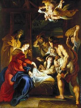 Rubens: Adoration, C1608 by Peter Paul Rubens