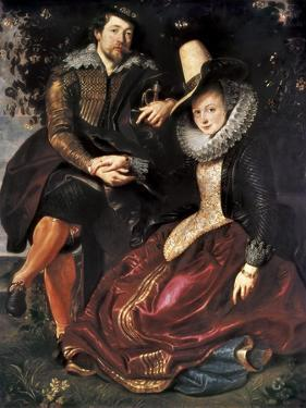 Rubens and Isabella Brant in the Honeysuckle Bower by Peter Paul Rubens
