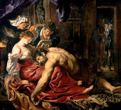 Samson and Delilah, c.1609 by Peter Paul Rubens
