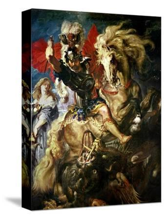 St. George and the Dragon, circa 1606 by Peter Paul Rubens