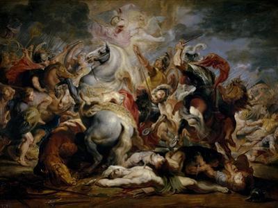 The Death of Consul Decio, 1616-1617 by Peter Paul Rubens