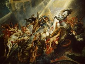 The Fall of Phaeton C.1604-08 by Peter Paul Rubens