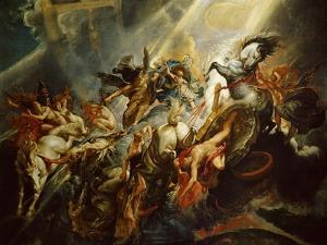 The Fall of Phaeton C.1604-08 by Peter Paul Rubens