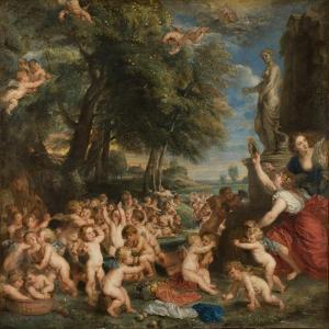 The Feast of Venus (The Festival of Venus Verticordi) by Peter Paul Rubens