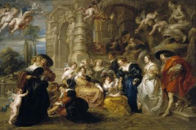 The Garden of Love, C. 1633 by Peter Paul Rubens
