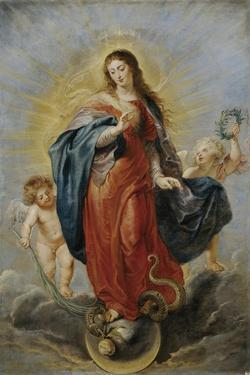 The Immaculate Conception, Ca. 1628-1629 by Peter Paul Rubens