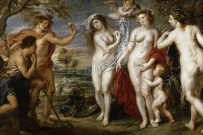 The Judgement of Paris, ca. 1638 by Peter Paul Rubens