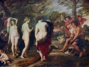 The Judgment of Paris, C1635-1638 by Peter Paul Rubens
