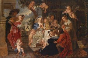 The Love Garden by Peter Paul Rubens