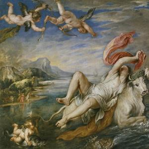 The Rape of Europa (After Titia), 1629 by Peter Paul Rubens