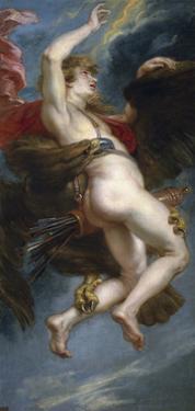 The Rape of Ganymede, 1636-1638 by Peter Paul Rubens