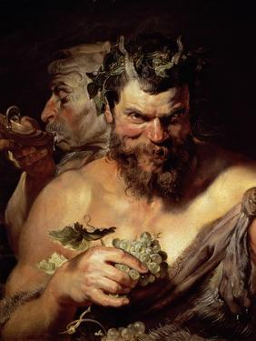 The Two Satyrs by Peter Paul Rubens