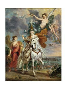 The Victory at Jülich (The Marie De' Medici Cycl) by Peter Paul Rubens