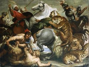 Tiger, Lion and Leopard Hunt, 1616 by Peter Paul Rubens