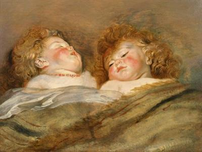 Two Sleeping Children by Peter Paul Rubens
