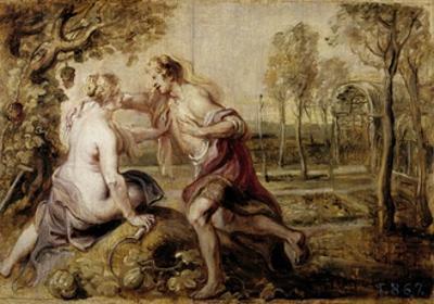 Vertumnus and Pomona, 1636-1637 by Peter Paul Rubens