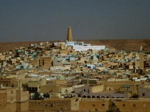 Cityscape, Ghardaia, Algeria by Peter Ptschelinzew