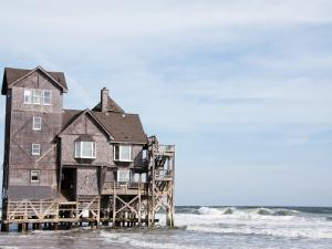 """House Used in the Movie """"Nights in Rodanthe"""" by Peter Ptschelinzew"""