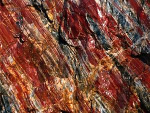 Jasper Stone, Pilbara, Australia by Peter Ptschelinzew